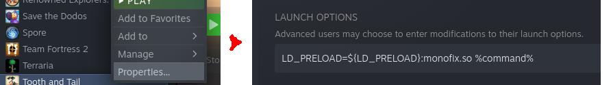Screenshot showing RMB menu and settings page